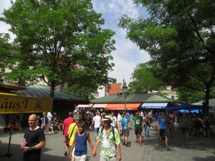 Viktualienmarkt © towelintherain