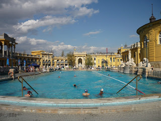 The Szechenyi Baths in Budapest (source - Pulped Travel)