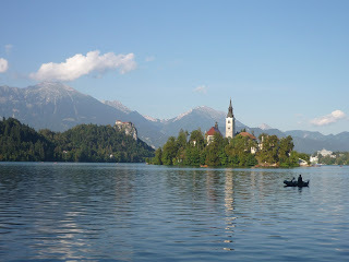 The stunningly beautiful Lake Bled in Slovenia. (source - Pulped Travel)
