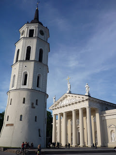 Vilnius Cathedral in Lithuania. (source - Pulped Travel)
